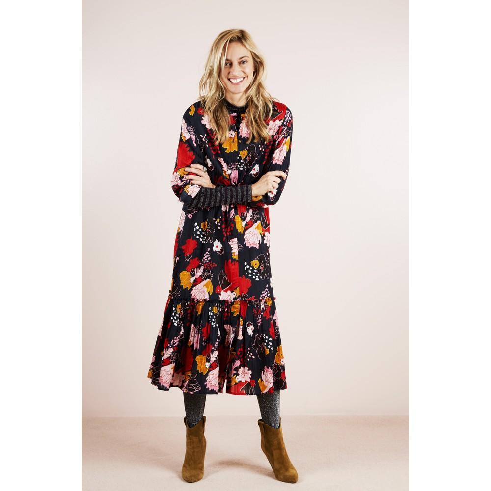 Lollys Laundry Anastacia Floral Dress Black/Multi