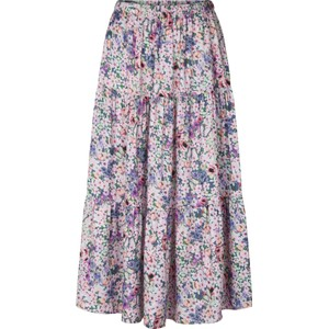Morning Floral Midi Skirt Pink/Multi