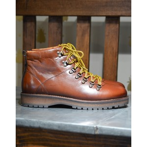 Lawrence Lace Up Boot Tan