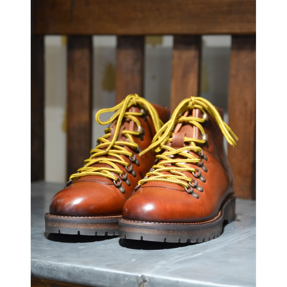 Shoe The Bear Lawrence Lace Up Boot Tan