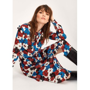 Tatatou Floral Dress  Red/White/Blue/Black
