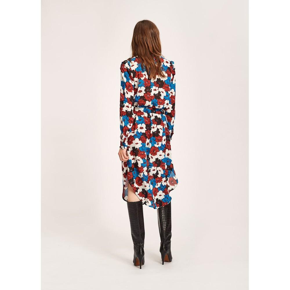 Essentiel Antwerp Tatatou Floral Dress Red/White/Blue/Black