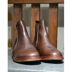 Shoe The Bear Wyatt Chelsea Boot-Leather Brown