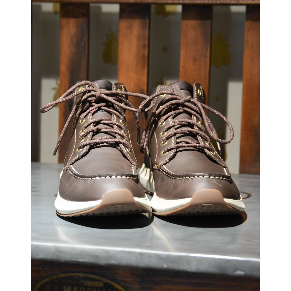 G.H.Bass & Co. Scout III Suede Boot Dark Brown