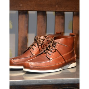 Ranger Pull Up Shoe CAMP MOC Dark Brown