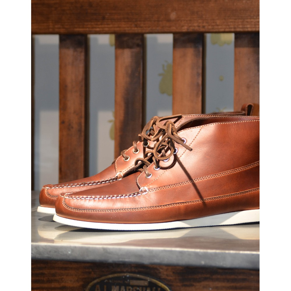 G.H.Bass & Co. Ranger Pull Up Shoe CAMP MOC Dark Brown