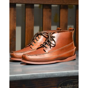 G.H.Bass & Co. Ranger Pull Up Shoe CAMP MOC in Mid Brown