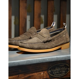 Weejun II Larson Shoe-Suede Dark Brown