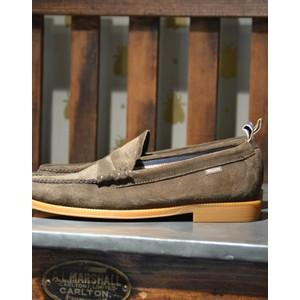 G.h.bass&co Weejun II Larson Shoe-Suede Dark Brown