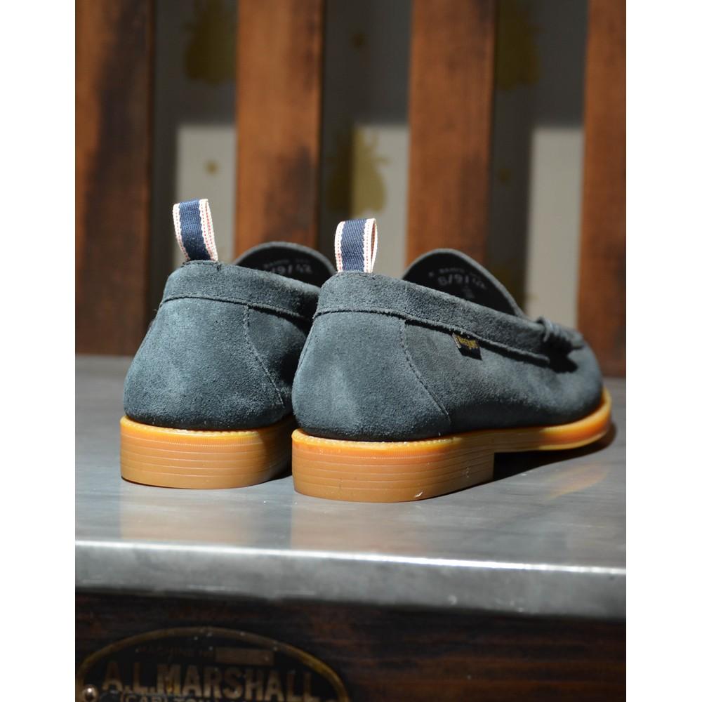 G.H.Bass & Co. Weejun II Larson Shoe-Suede Navy