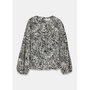 Essentiel Antwerp Tarmony Printed Blouse Black/White