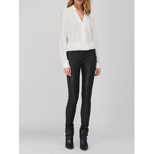 Campbell Leather Legging Raven