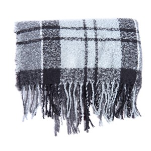 Barbour Boucle Scarf Grey/Juniper