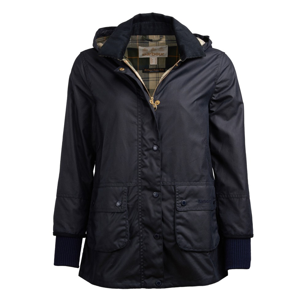 Barbour Pine Marten Wax Jacket Navy/Ancient