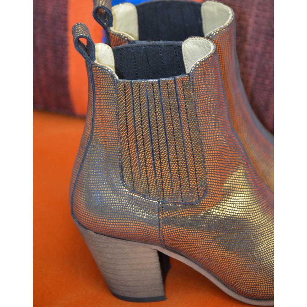 Ivylee Metallic Gold Boot Metallic Gold