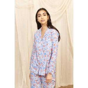 Nectarine Floral Pyjama Set  Nectarine