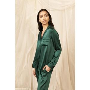 Jade Classic Silk Pyjama Set Jade