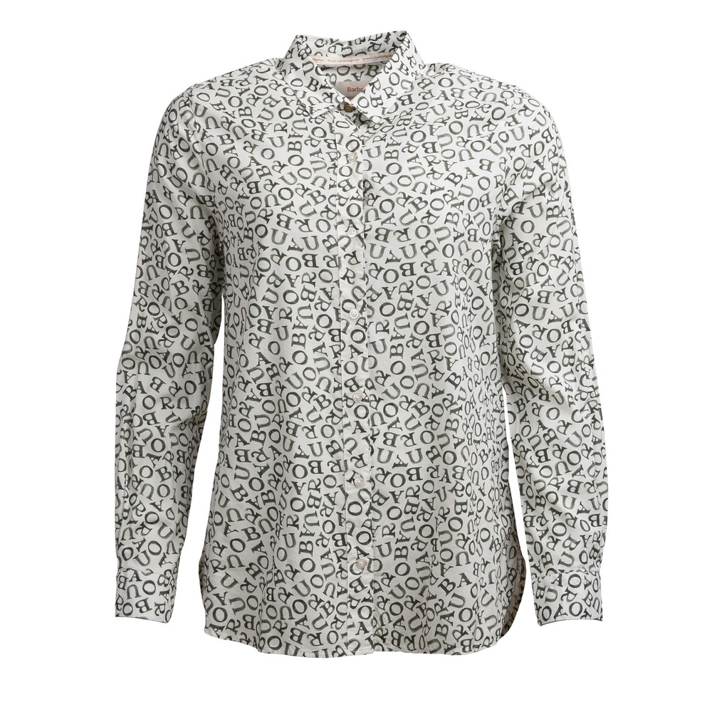 Barbour Eleanor Shirt Cloud Love Print