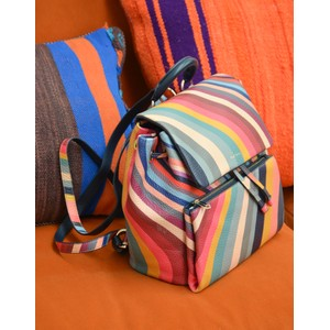 Paul Smith Accessories Small Swirl Backpack Multi