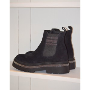 Side Stretch Stud Boot Marino