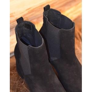 Toni Pons Roda Block Heel Boot-Suede Black