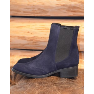 Toni Pons Trieste Stretch Side Boots Navy