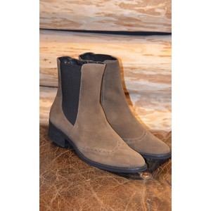 Trieste Stretch Side Boots Taupe