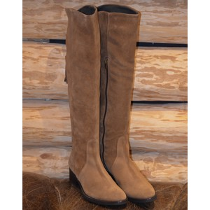 Tripoli Knee HighTassel Boot Tobacco