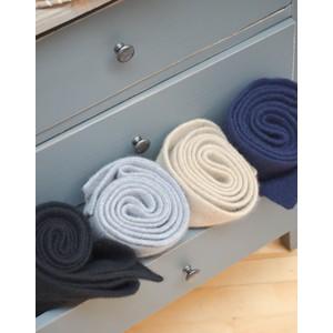 Le Bonnet Rib Knit Long Scarf Onyx