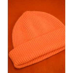 Le Bonnet Rib Knit Beanie in Flame