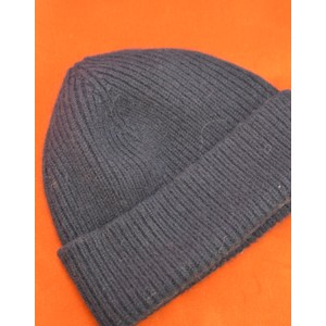 Rib Knit Beanie Midnight