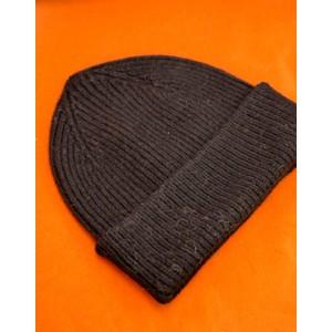 Rib Knit Beanie Onyx
