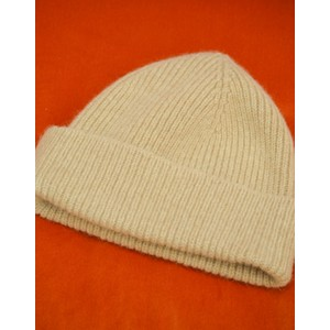 Le Bonnet Rib Knit Beanie in Sand
