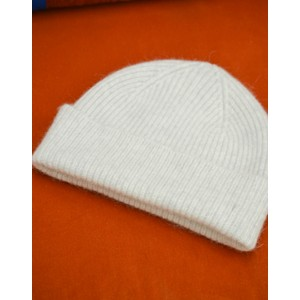 Le Bonnet Rib Knit Beanie in Silver