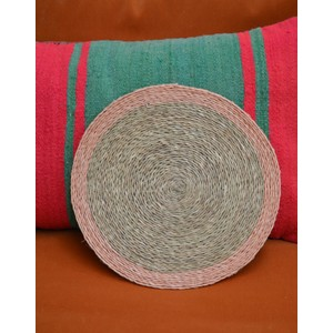 Coloured Trimmed Placemat Blush