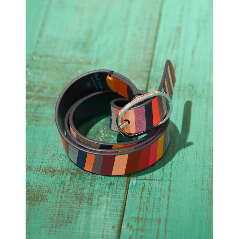 Paul Smith Accessories Swirl Reversible Belt Multicolour