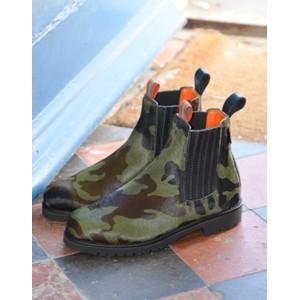 Oscar Pony Camo Boot Khaki/Khaki