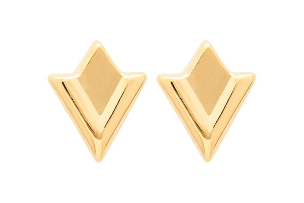 Louise Kragh Lily Earrings Gold
