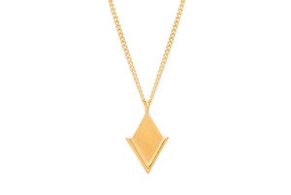 Louise Kragh Lily Necklace Gold
