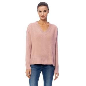 Daria V/N Vent Hem Soft Knit Seashell