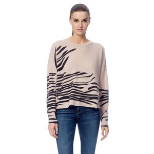 Molly Tiger Stripe Jumper Bisque/Black