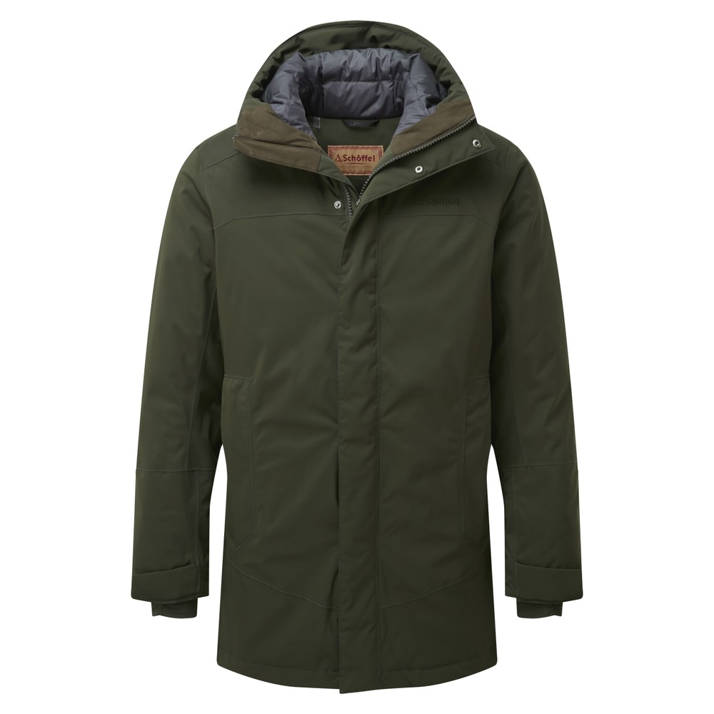 Schoffel Country Aysgarth Down Parka Forest