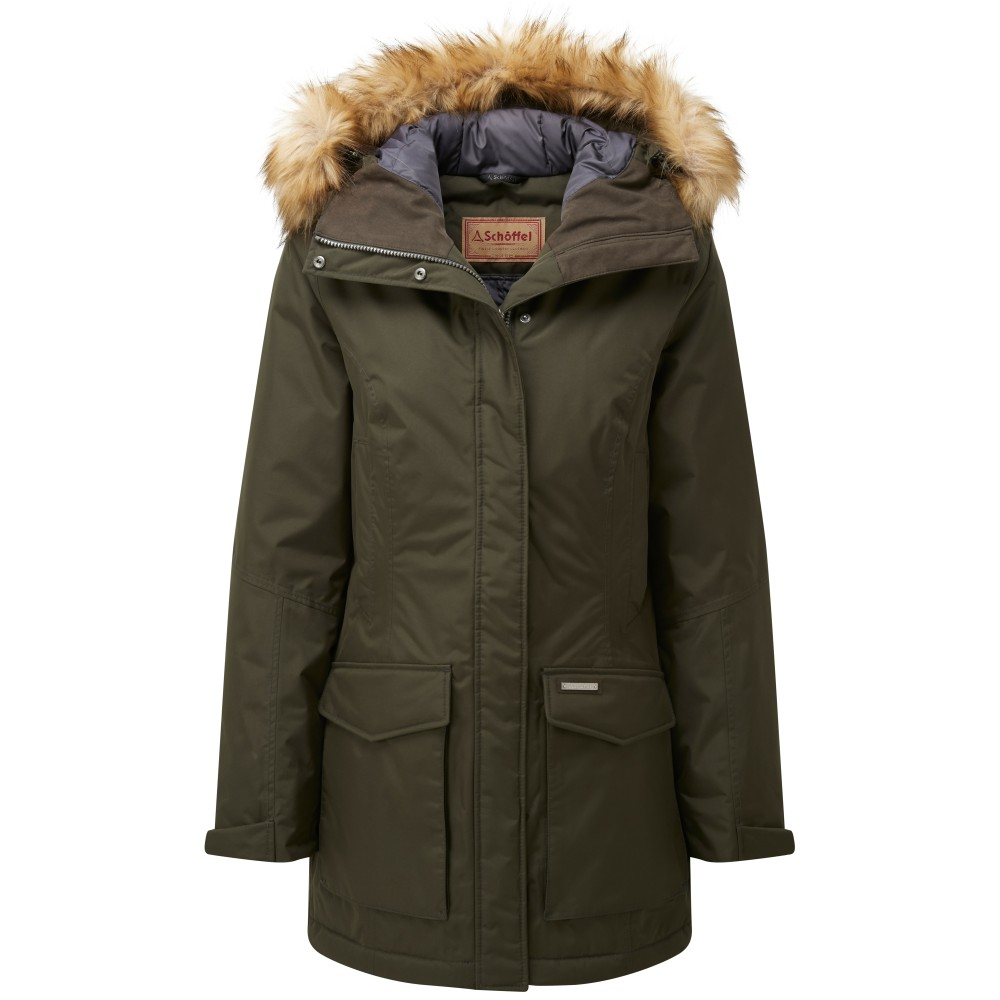 Schoffel Country Bedale Down Coat Forest