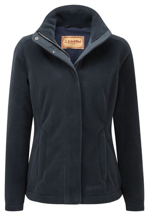 Schoffel Country Melton Fleece Navy