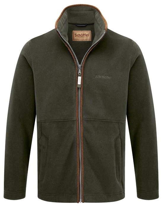 Schoffel Country Cottesmore Fleece Jacket Moss