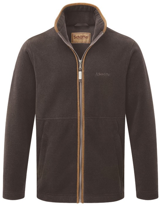 Schoffel Country Cottesmore Fleece Jacket Mocha
