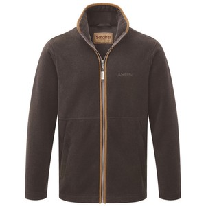 Schoffel Country Cottesmore Fleece Jacket in Mocha