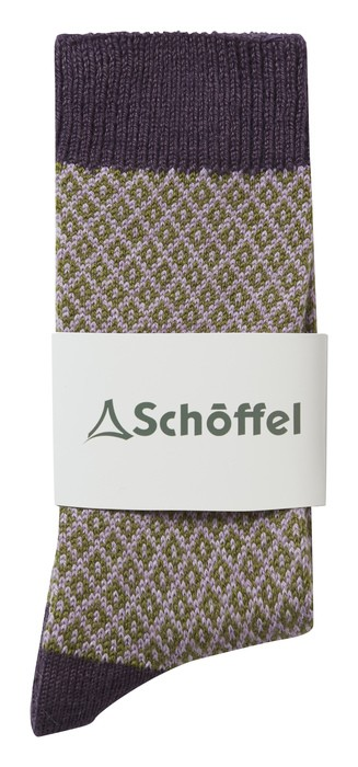Schoffel Country Braemar Sock Thistle
