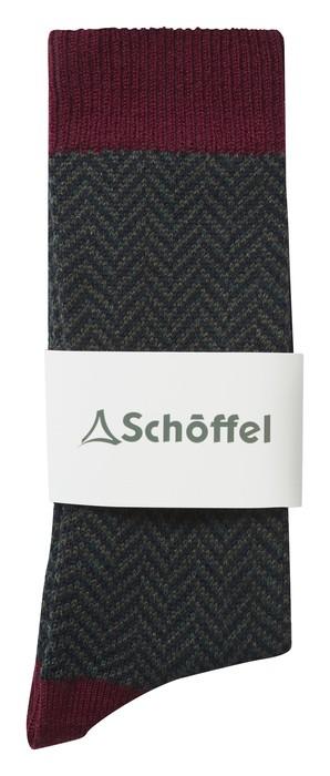 Schoffel Country Halkirk Sock Claret