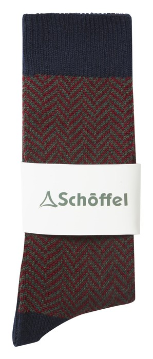 Schoffel Country Halkirk Sock Navy